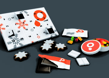 """Compania britanică Saxoprint și-a lărgit gama de servicii, propunând """"cofetăria publicitară"""""""