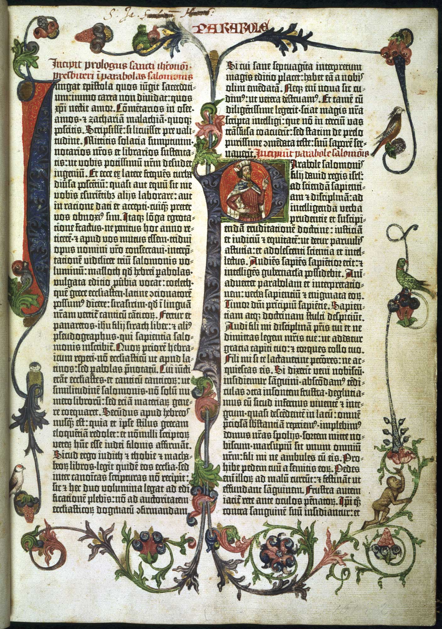 Biblia cu 42 de randuri a lui Gutenberg - British Library