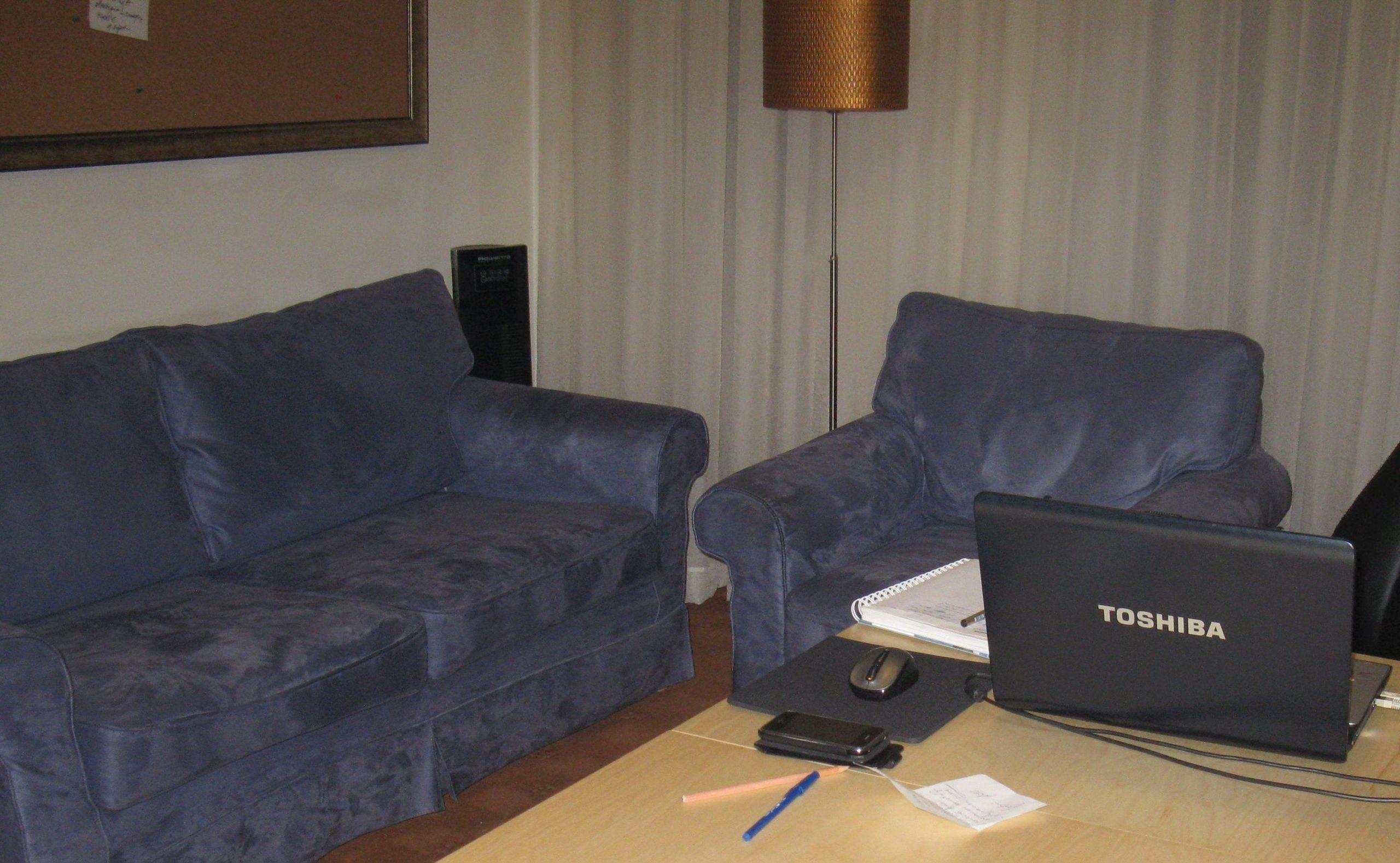 Biroul meu de acasă și panoul de proiecte