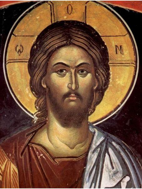 Reprezentare canonică a temei Isus Pantocrator. Sursa: Ortodox.ro