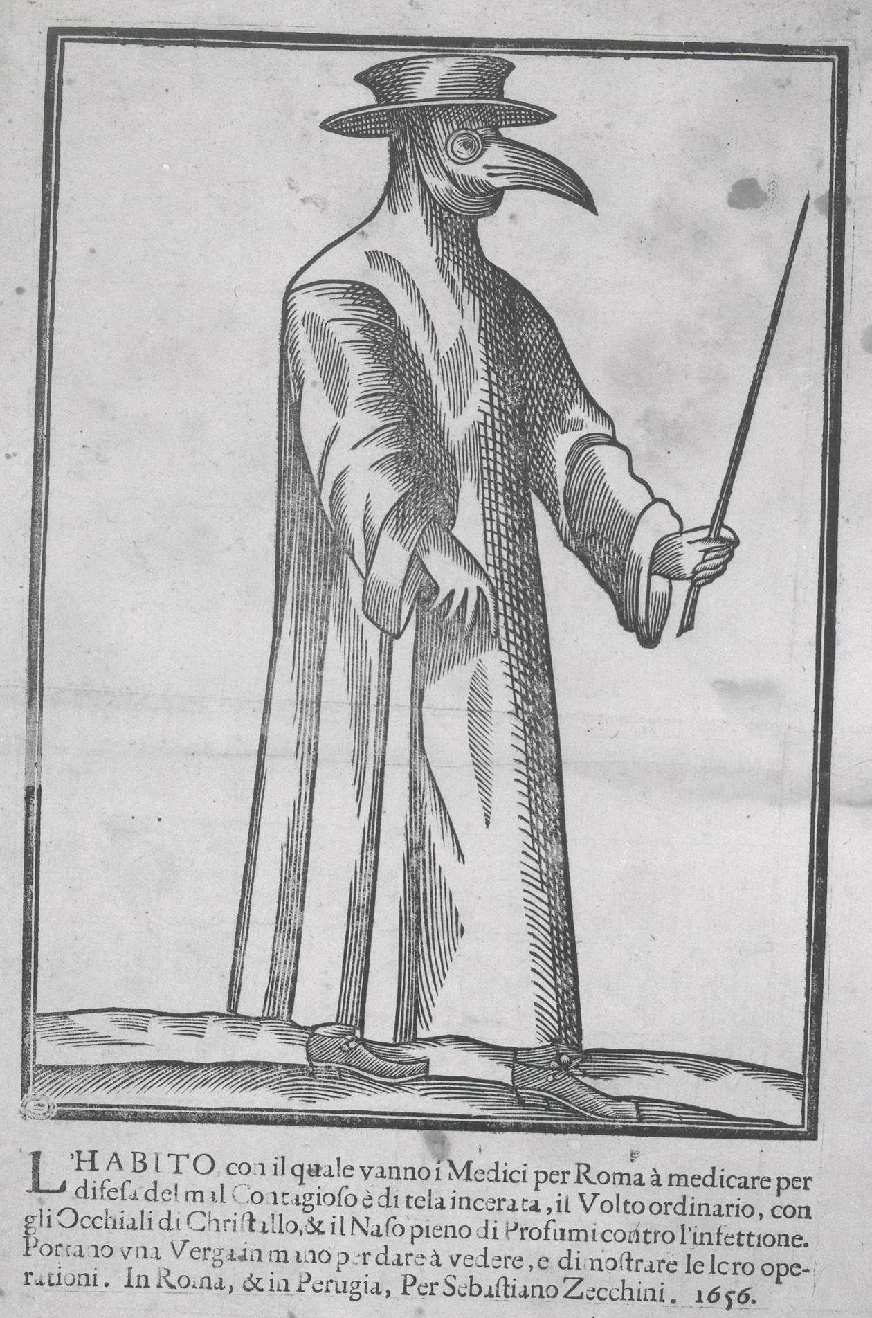 Anonim, gravură din 1656, British Museum